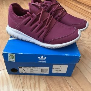 Adidas Tubular Radial K Shoes!